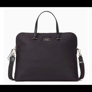 NWT Kate Spade Black Dawn Laptop Bag